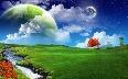 Green Field Grass Sky Beautiful Nature Wallpaper  1  jpg