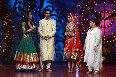 Jennifer Winget Sunil Grover Genelia Saroj Khan on shooting sets of dance reality show Nachle Ve at RK Studios in Mumbai  1