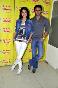 Anushka Sharma with Ranveer Singh promoting Ladies vs Ricky Bahl