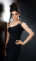 Richa Panai Black Dress Hot Photo