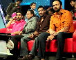 Abhishek Bachchan Mithun Chakraborty Ajay Devgan Rohit Shetty at Dance India Dance Little Masters sets to promote Bol Bachchan photo