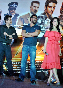 Anil Kapoor Ajay Devgn Kangna Ranaut Tezz Promotion Photo