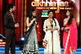 Asin and Prachi Desai on Jhalak Dikhlaja Show for Bol Bachchan Movie Promotion Pic