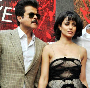 Anil Kapoor Kangna Ranaut John Abraham at film SHOOTOUT AT WADALA launch in Mumbai Photo