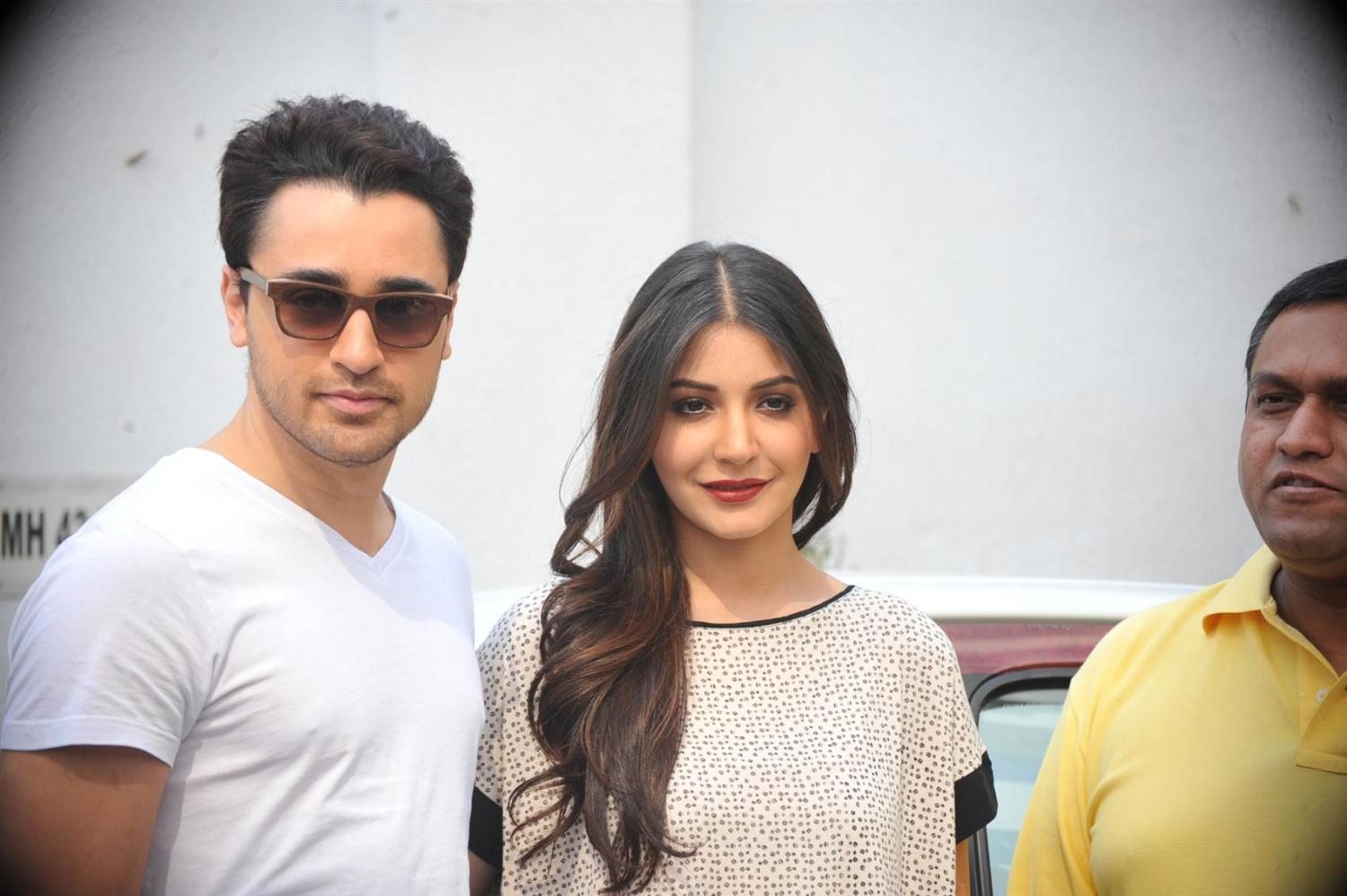 Imran Khan with Anushka Sharma at tie up announcement event of TAB ...