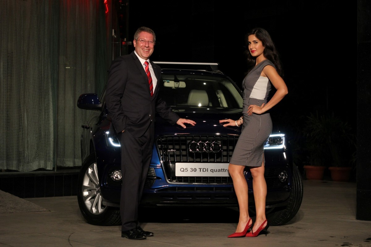 Mr Joe King Head Audi India With Audi Owner And Bollywood