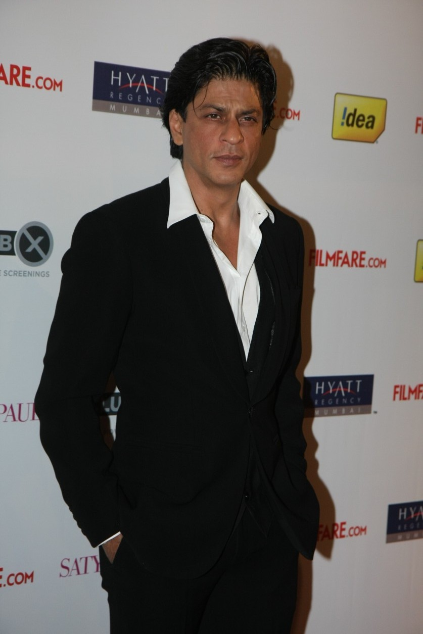 King Khan Shah Rukh Khan SRK at Filmfare Awards 2012 ...