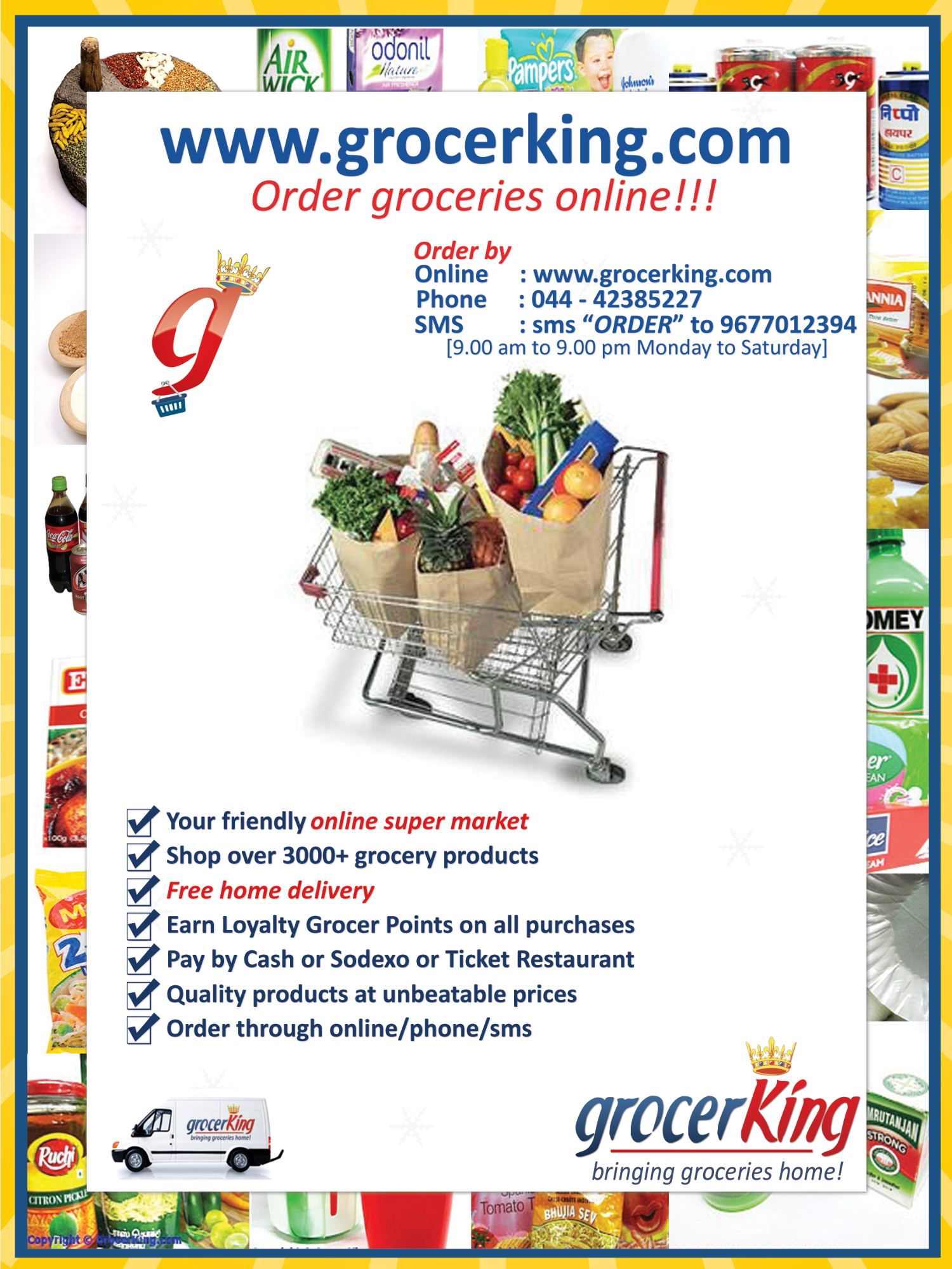 Online Grocery Supermarket Chennai : grocerking on Rediff Pages