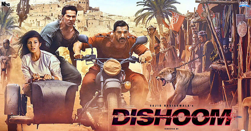 Dishoom (2016) Watch Online Full Movie