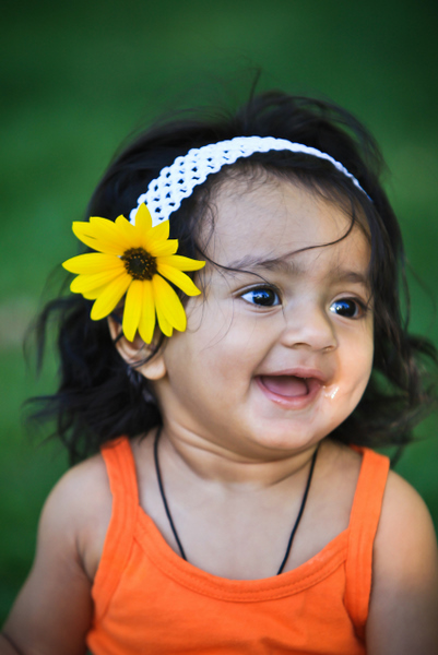 Cute Shreya Indian Baby Smile Picture Cute Babies On