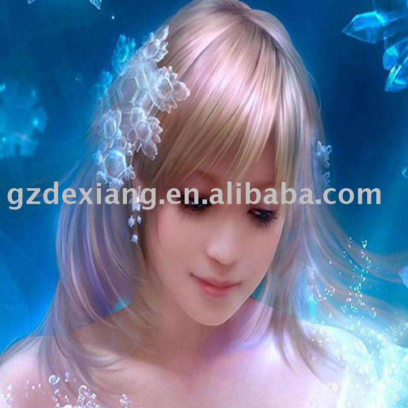 beautiful girl 3d picture