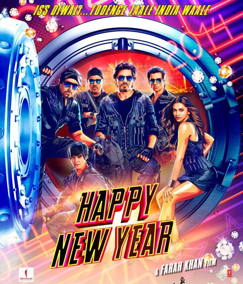 happy new year movie poster first look happy new year on