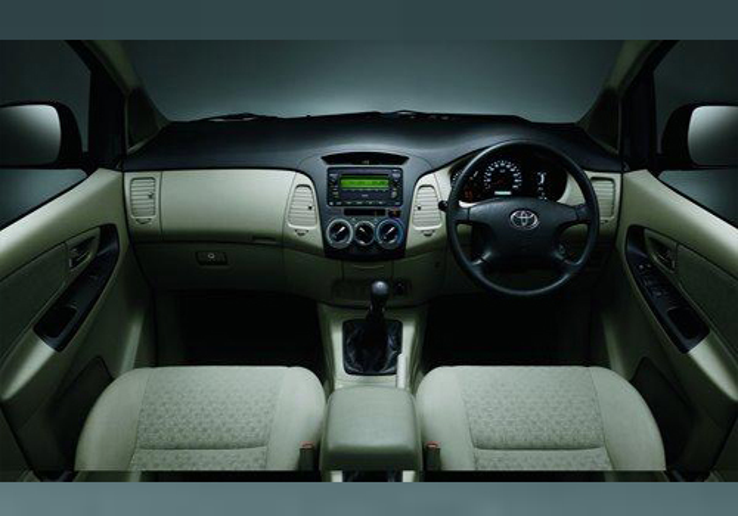 Toyota Innova Interior 2013 Toyota Innova Interior