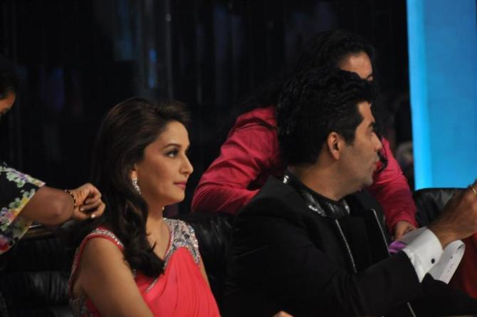 Madhuri Dixit Nene on the sets of JHALAK DIKHHLA JAA Season 5 in Mumbai 2