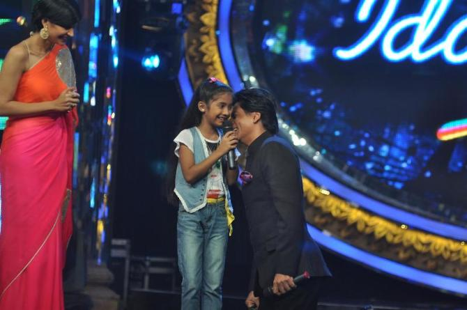 Indian Idol Junior Sets Rediff Bollywood Pages