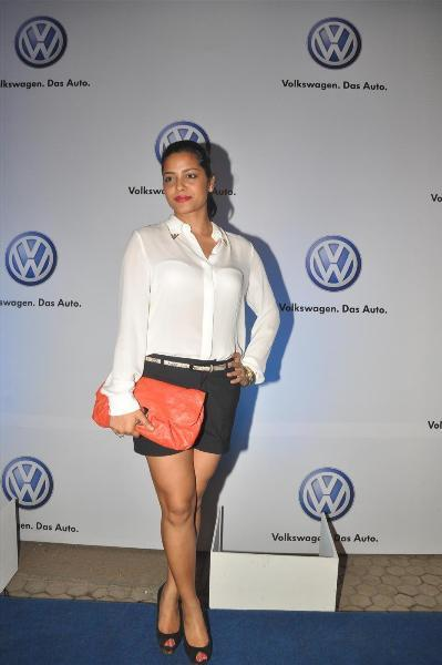 bollywood celebs at planet volkswagen launch at blue frog-photo11