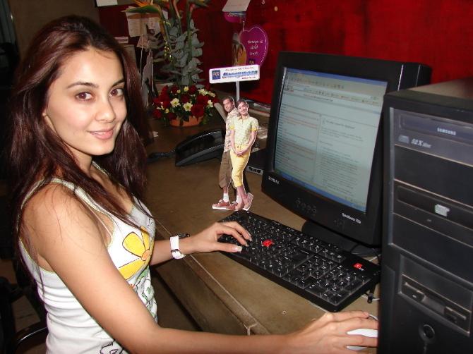 Minissha Lamba on chat