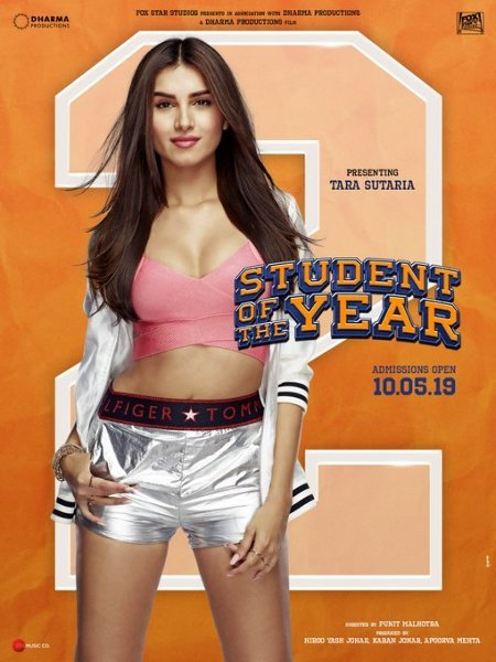 Tara Sutaria Student of the Year 2 New Poster