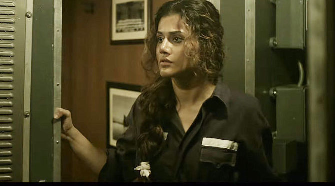 Taapsee Pannu The Ghazi Attack Movie Stills  24