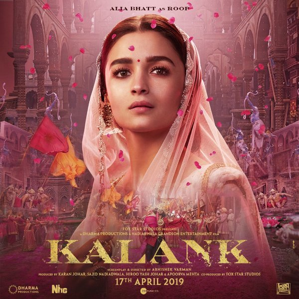 Alia Bhatt  KALANK Movie Photos