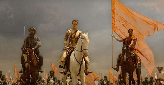 Ankita Lokhande   Kangana Ranaut as Manikarnika   The Queen Of Jhansi Movie Photos  8