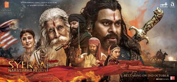 Syeraa Narasimha Reddy Movie New Poster