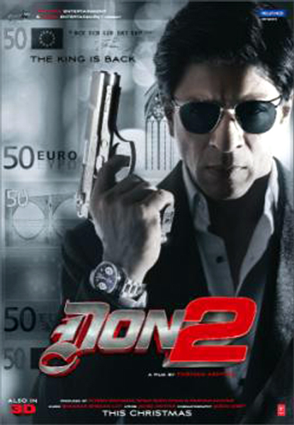 Shahrukh Khan Don 2 Movie Poster