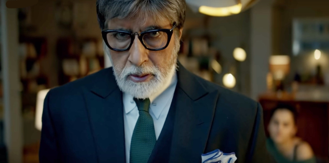 Amitabh Bachchan and Taapsee Pannu BADLA Movie Photos  1