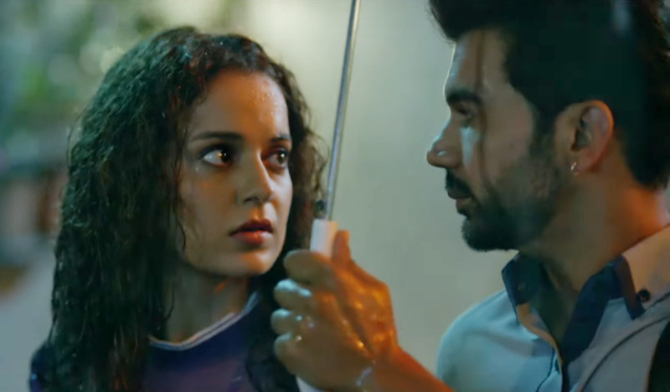 Kangana Ranaut   Rajkummar Rao starrer Judgementall Hai Kya Hindi Movie Stills 97