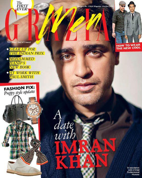 Imran Khan Grazia Men Cover