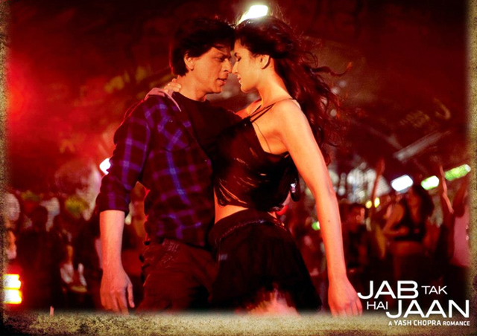 Shahrukh Khan Katrina Kaif Jab Tak Hai Jaan Movie Song Still