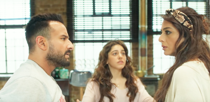 Tabu   Alaia F   Saif Ali Khan starrer Jawaani Jaaneman  Movie photos  17