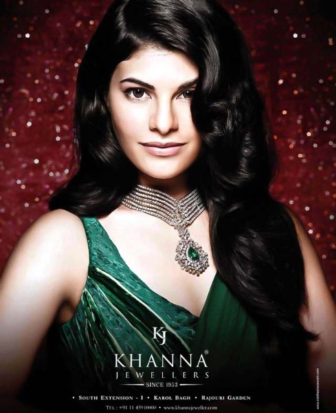 Jacqueline Fernandez Khanna Jewellers Photo