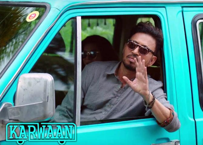 Irrfan Khan starrer KARWAAN Movie Stills  9