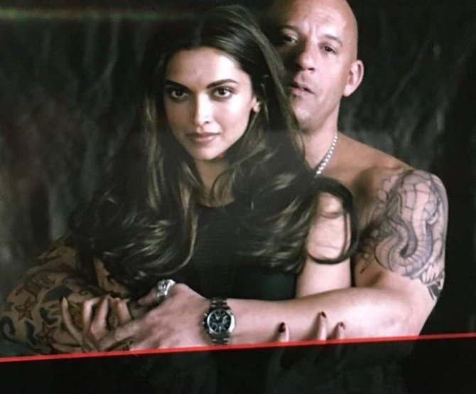 Deepika Padukone and Vin Diesel XXX Return of Xander Cage Movie Stills  3