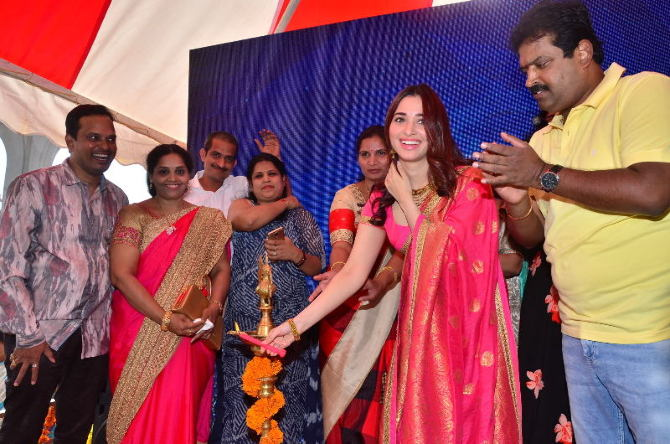 tamanna launches joh rivaaj collections-photo12