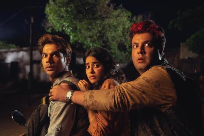 Roohi Afzana starring Rajkummar Rao  Janhvi Kapoor and Varun Sharma