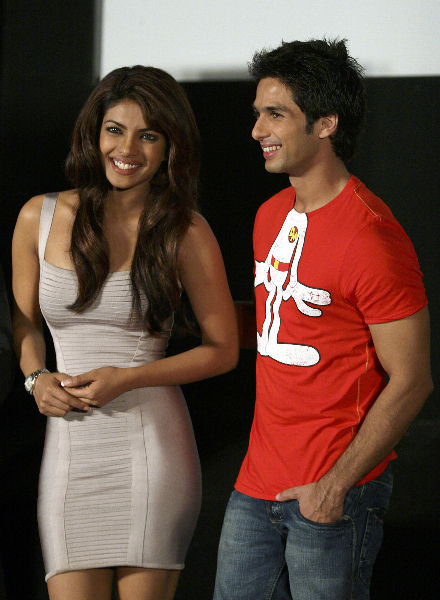Shahid kapoor Priyanka Chopra
