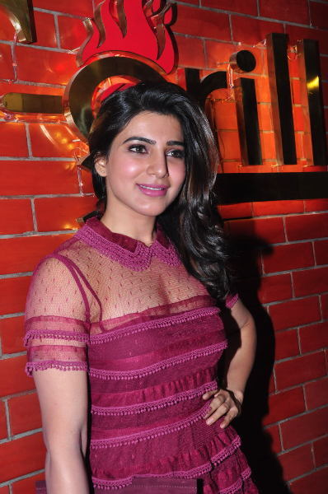samantha ruth prabhu launches kona neeraja s t grill restaurant at madhapur-photo55