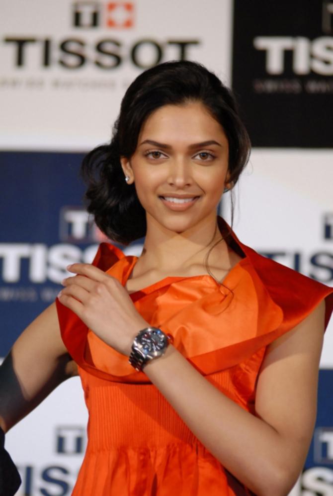 Deepika Padukone Brand Ambassador of Tissot Expert Watch ...