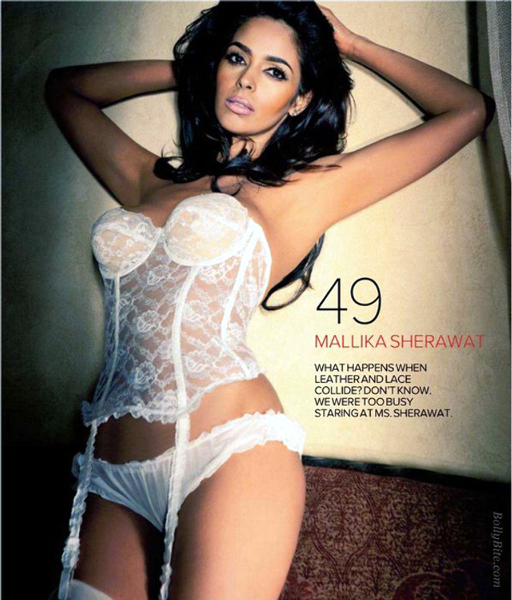 Mallika Sherawat Shoots for Maxim Cover Pic