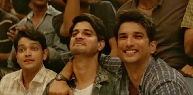 Tahir Raj Bhasin as Derek   Sushant Singh Rajput starrer Chhichhore Hindi Movie Photos  81