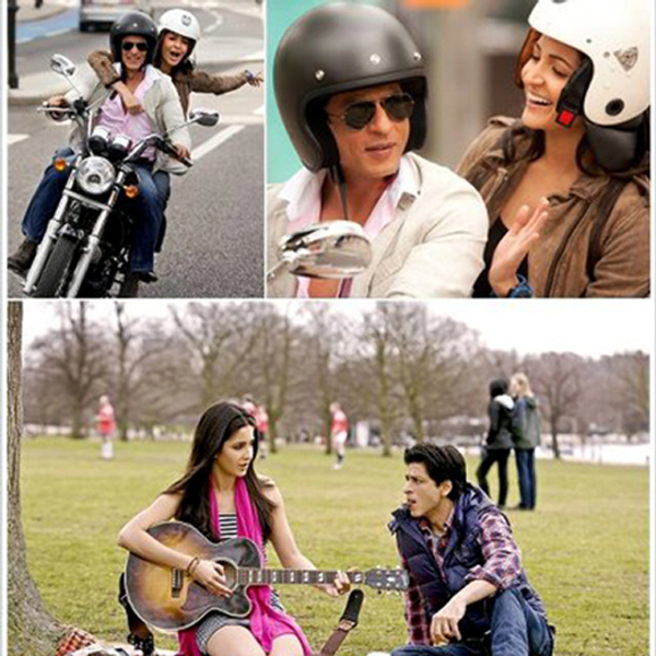 Shahrukh Khan and Anushka Sharma Jab Tak Hai Jaan Film Photo