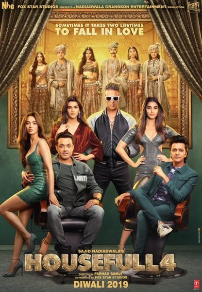 Housefull 4 Movie Poster First Look