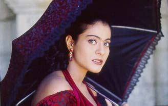 kajol with umbrella