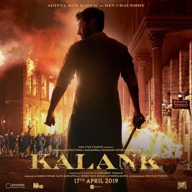 Aditya Roy Kapur KALANK Movie Photos
