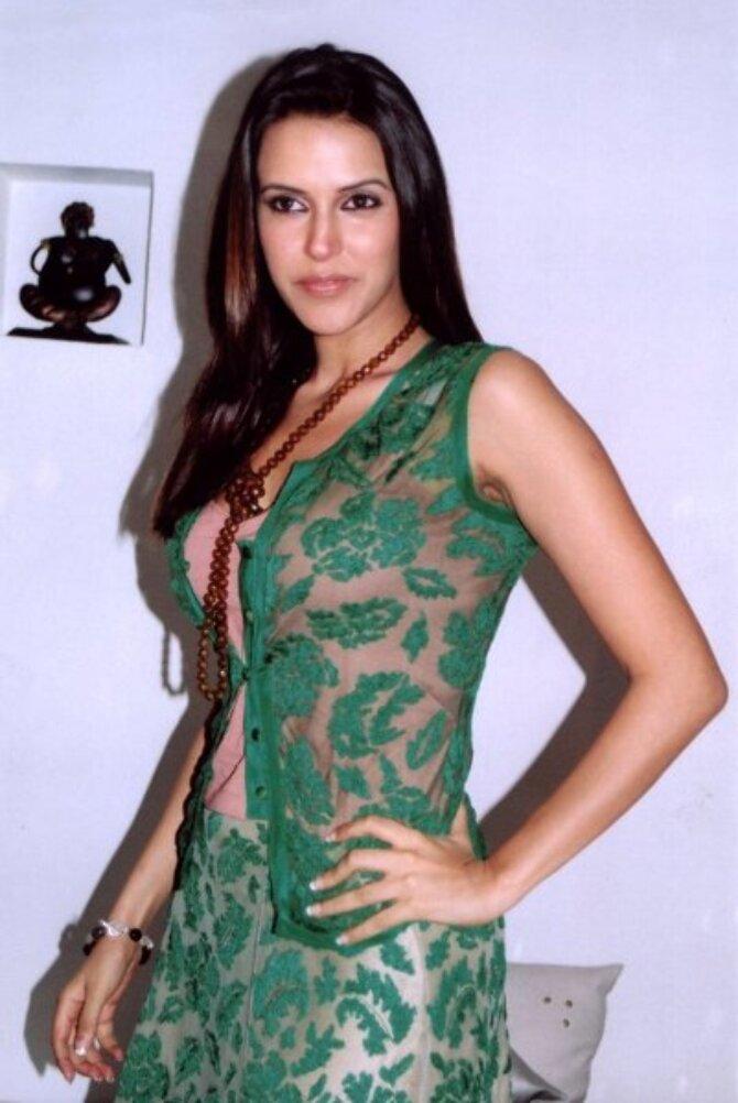 Neha Dhupia Pose