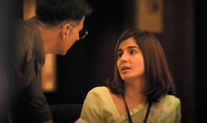 Kirti Kulhari   Akshay Kumar starrer Mission Mangal Movie Photos  2