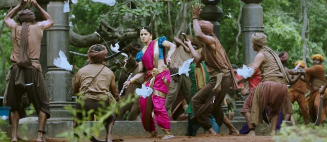 Anushka Shetty Bahubali 2 Movie Photos  5