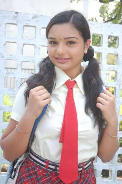 cute sexy actress in school uniform 14